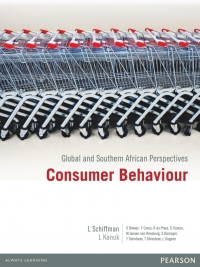 CONSUMER BEHAVIOUR: GLOBAL AND SA PERSPECTIVES