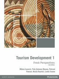 TOURISM DEVELOPMENT: FRESH PERSPECTIVE