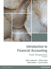 INTRODUCTION TO FINANCIAL ACCOUNTING: FRESH PERSPECTIVES