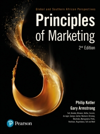 PRINCIPLES OF MARKETING: GLOBAL AND SA PERSPECTIVES