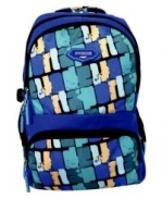 BACKPACK ISLAND CLUB SNR BOYS BLUE