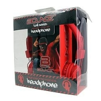 HEADPHONE BOUNCE BALL SERIES RED