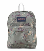 BAG BACKPACK SUPERBREAK MLT GREY FLORAL FLO
