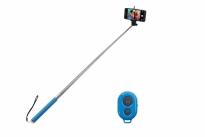 selfie stick bluetooth blue volkano lifestyle series van schaik. Black Bedroom Furniture Sets. Home Design Ideas